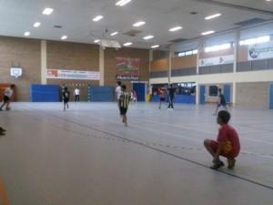 Goße Freude am Fußball spielen